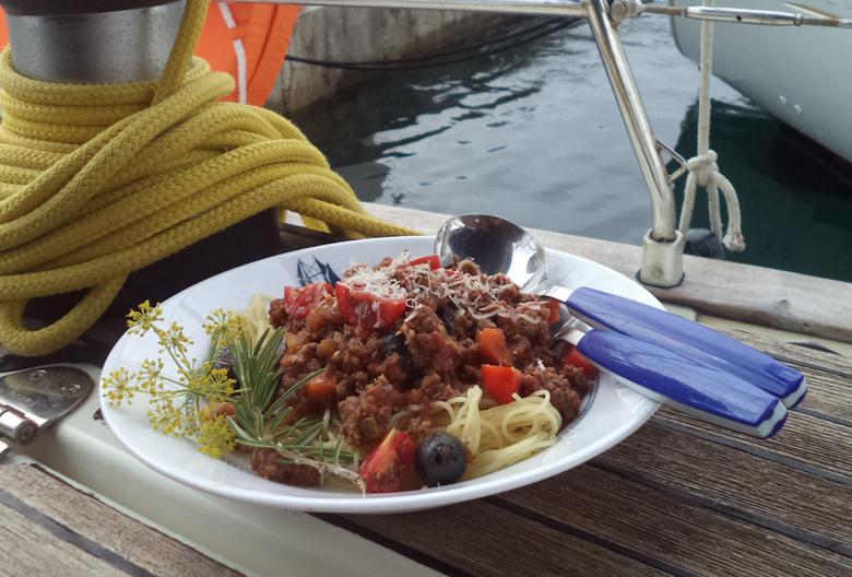 spagete a la marinero