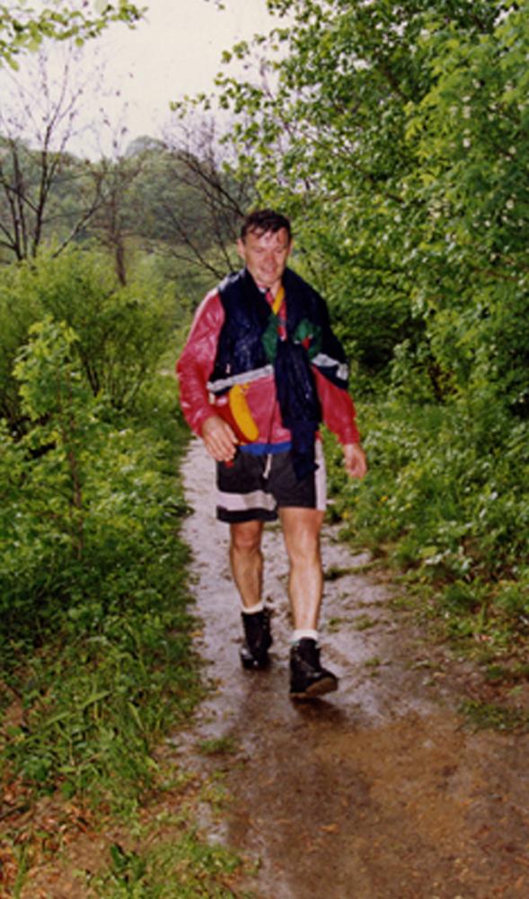 Jozef Farkas na planinarenju