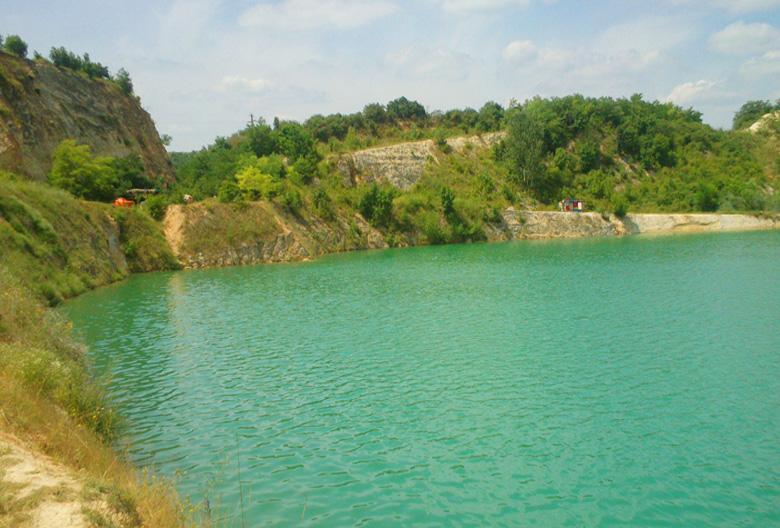 Mariniranje jezero Beli kamen
