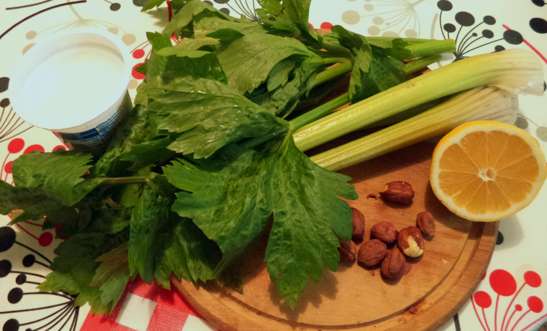 Mariniranje celery with hazelnuts photo M Jablanov