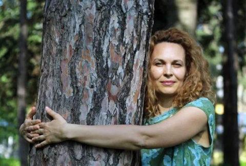Biljana Grbovic u prirodi Foto Milica Ilic
